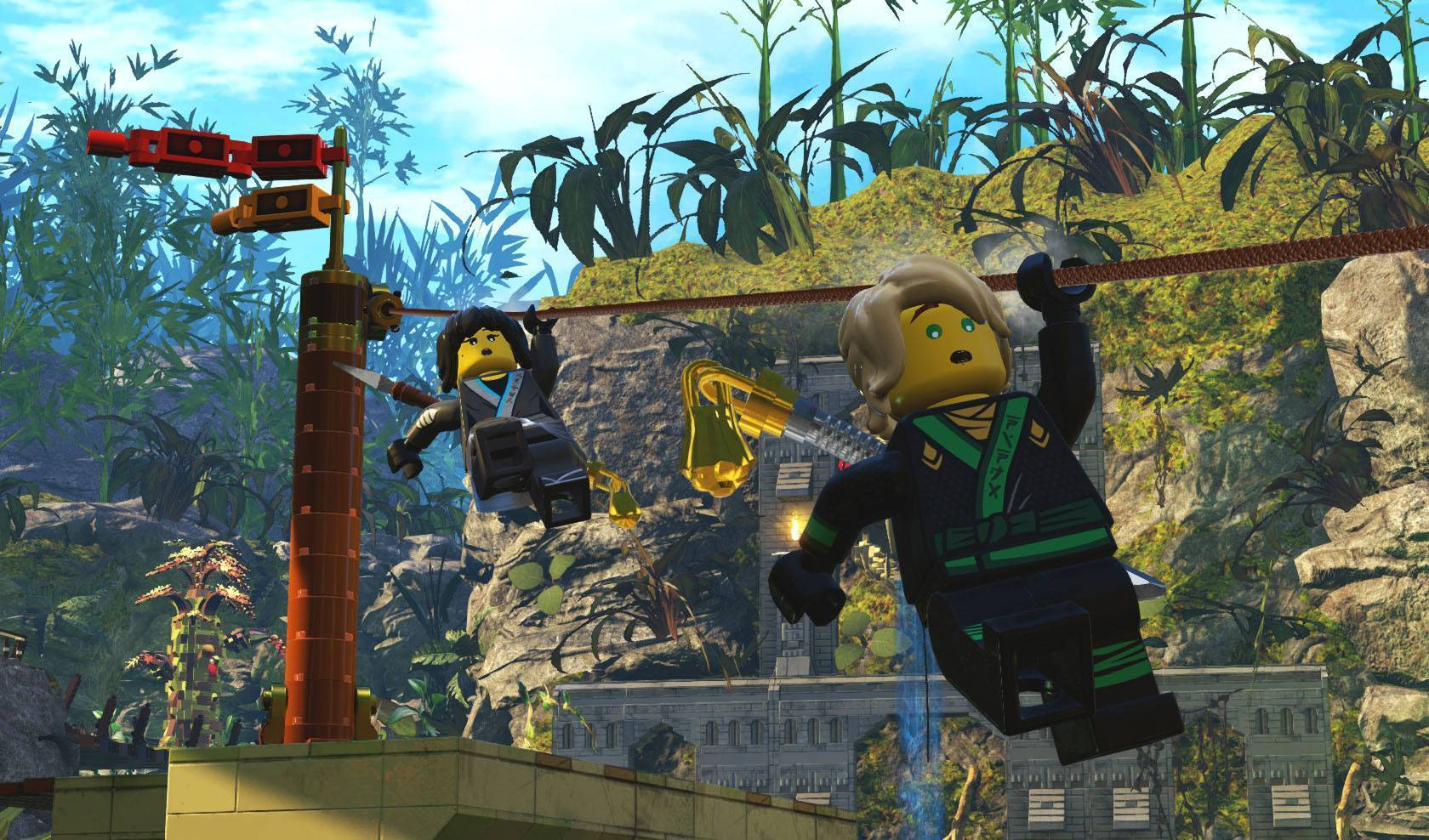 The Lego Ninjago Movie The Lego Ninjago Movie Video Game