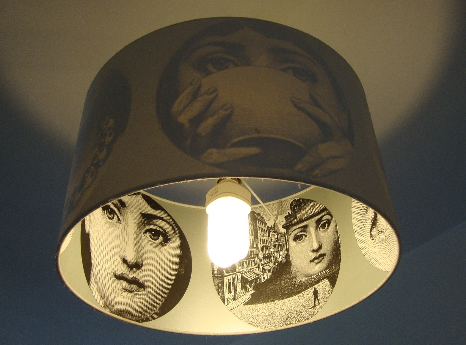 Fornasetti Face Wallpaper Piero Fornasetti Design Crush Godard Girl The
