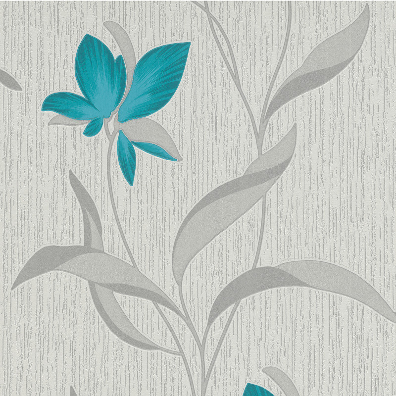 Black Glitter Wallpaper Bedroom Erismann Fleur Glitter Wallpaper Teal And Silver