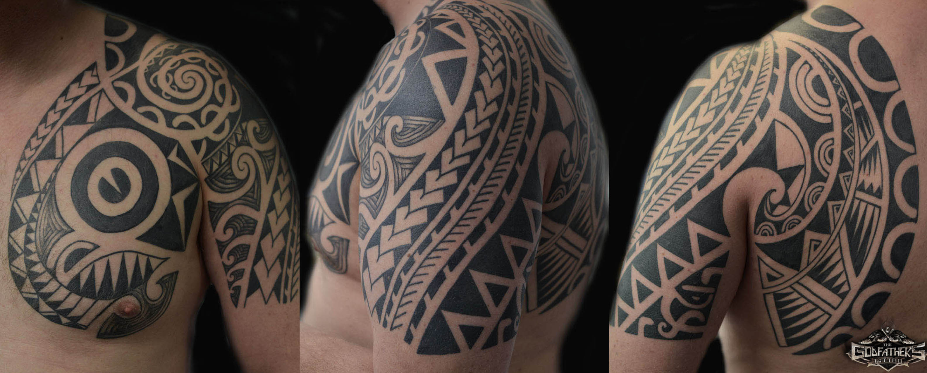 Aquarell Tattoo Maori-black Works-mandala | Gallery Of Our Tattoos In
