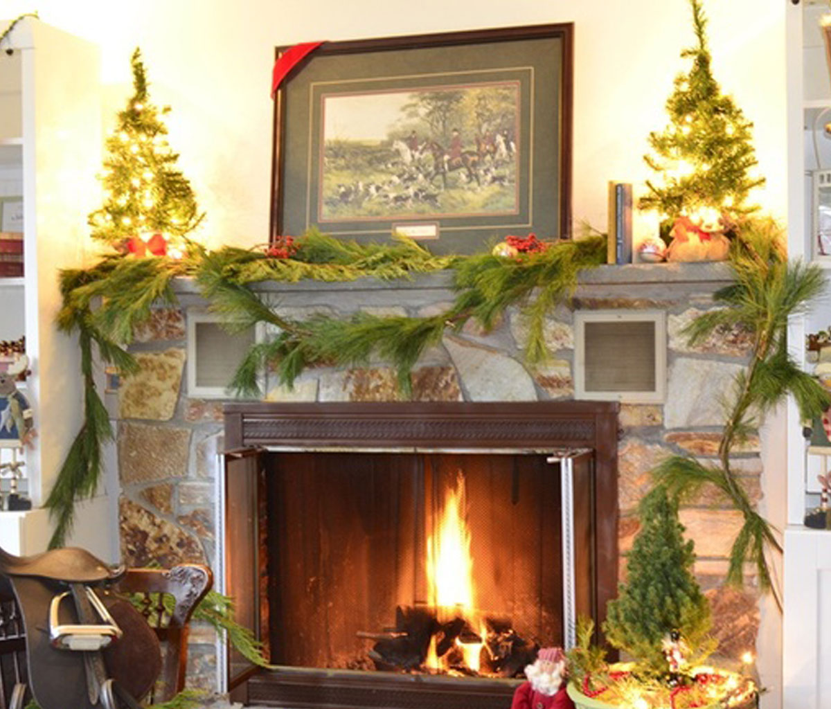 Fireplace Screens Tree Design Add Fire To The Fireplace Area With Mesmerizing Decoration
