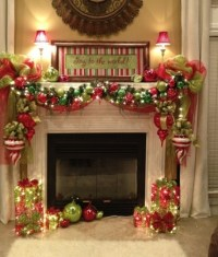 ADD FIRE TO THE FIREPLACE AREA WITH MESMERIZING DECORATION ...