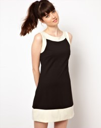 ATTRACTIVE BLACK AND WHITE DRESS TO ADD GLAMOUR TO UR ...