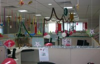 CREATIVE INSPIRATIONAL WORK PLACE CHRISTMAS DECORATIONS ...
