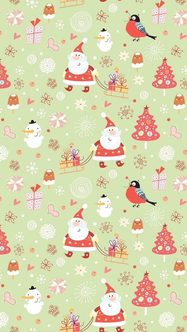 Cute Nail Art Wallpaper 53 Christmas Iphone Wallpapers To Download Without Cost