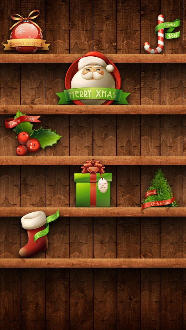 Hd Wallpapers Of Nail Art 53 Christmas Iphone Wallpapers To Download Without Cost