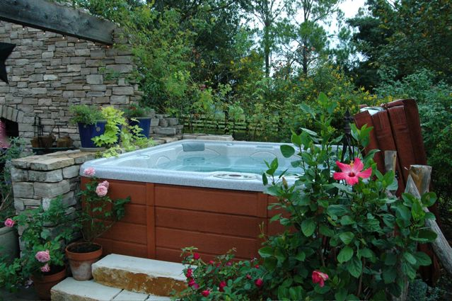 Fall Outdoor Decorations Wallpaper Relaxing Outdoor Spa Ideas For Your Home Godfather Style