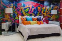 18 GORGEOUS GRAFFITI WALL INTERIOR INSPIRATIONS ...