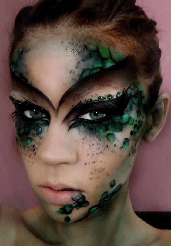 image for christmas elf halloween makeup - Christmas Elf Makeup