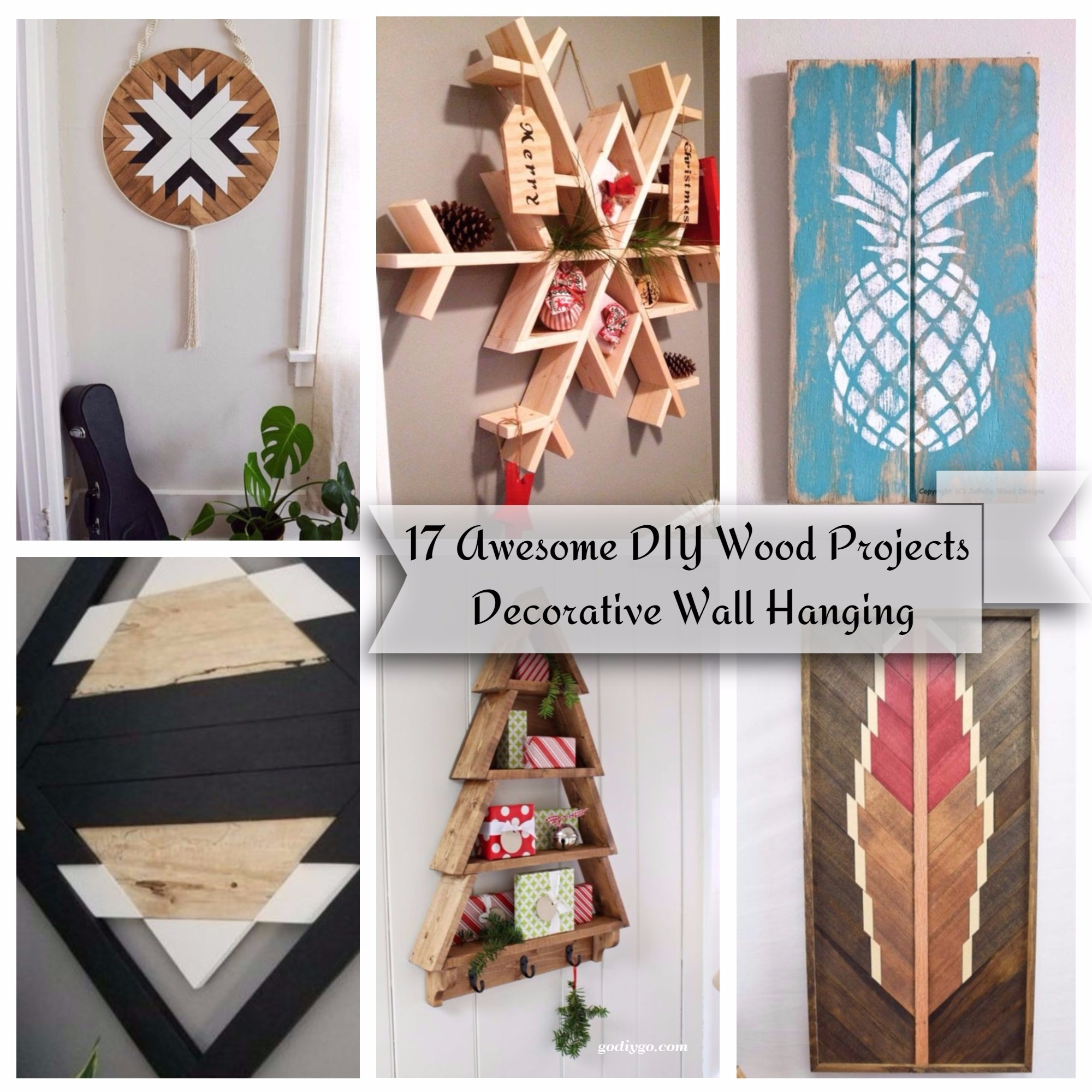 Pinterest Christmas Quilted Wall Hangings 17 Awesome Diy Wood Projects Decorative Wall Hanging