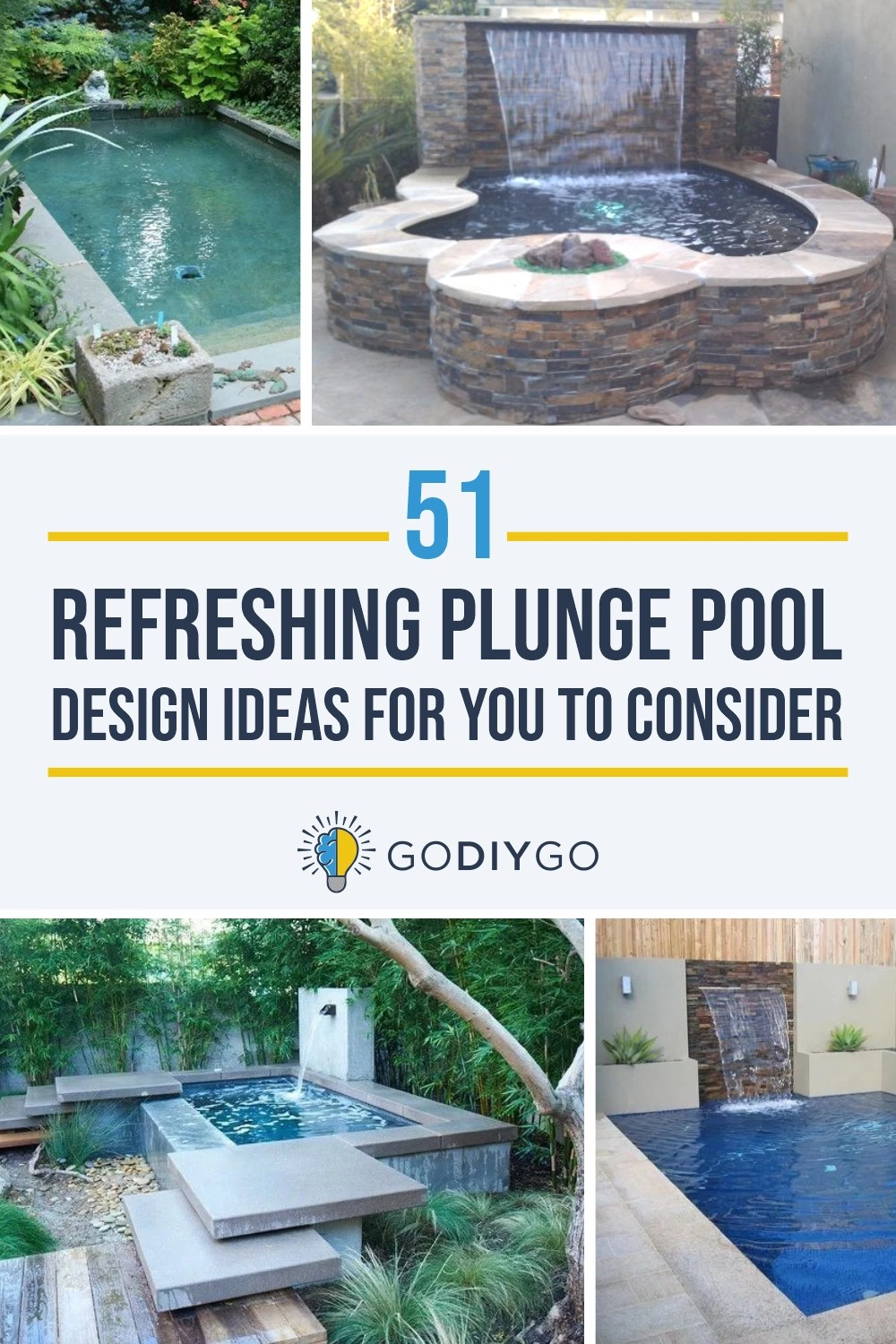 Tauchbecken Outdoor 51 Refreshing Plunge Pool Design Ideas For You To Consider ~ Godiygo.com