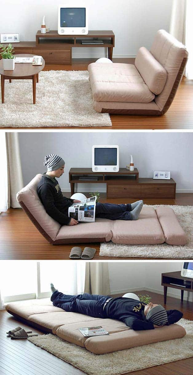 Slide Under Sofa Table 9 Amazing Folding Sofa Beds For Small Spaces (you Can Afford)