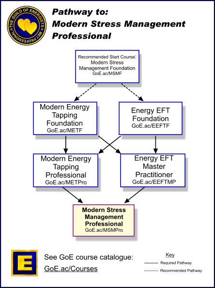 Modern Stress Management Professional Training GoE - stress management chart