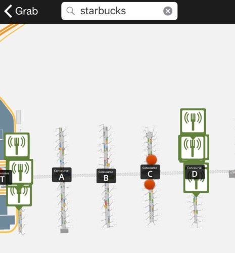 Starbucks location ATL airport