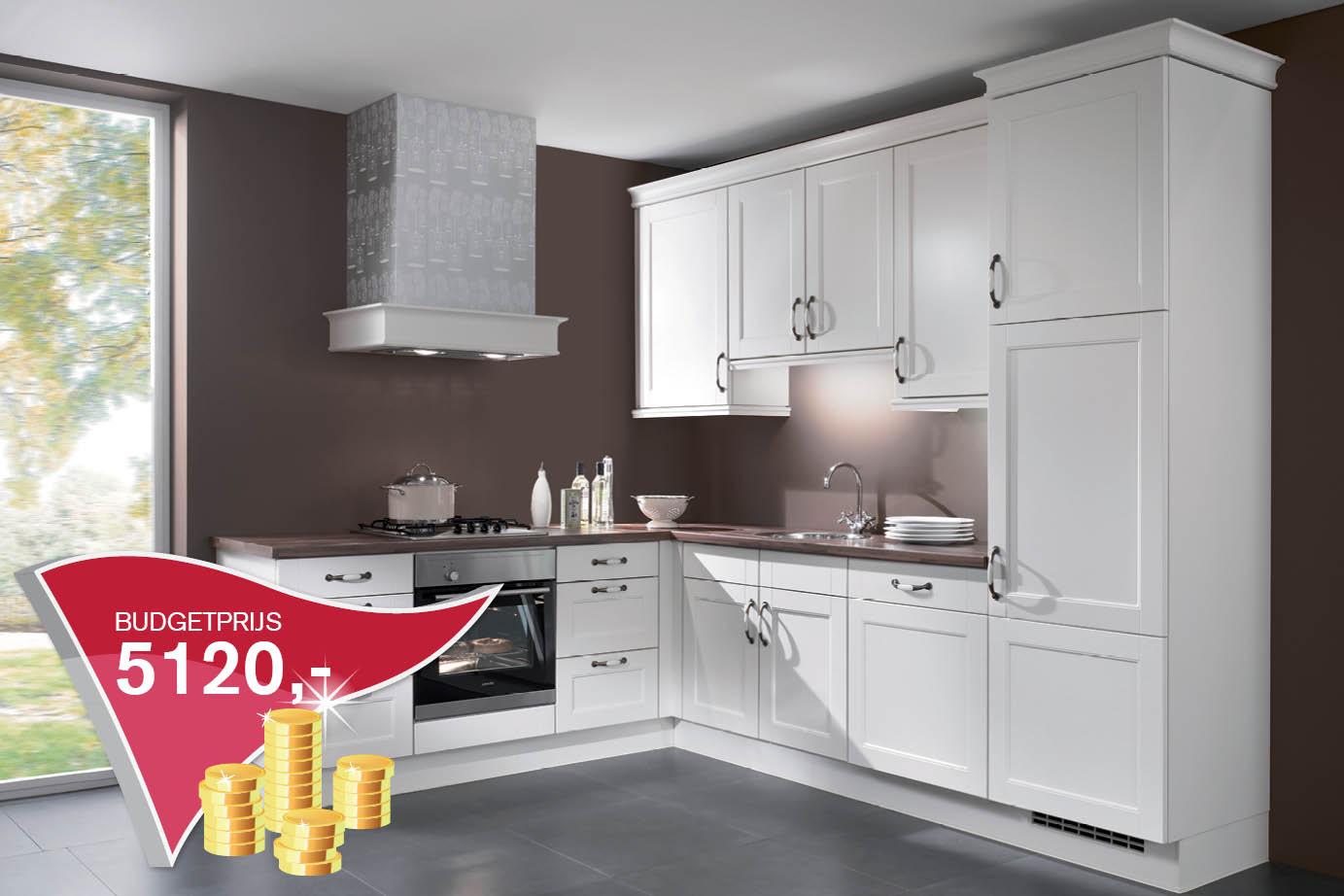 Goedkope keukens eiland keukens dronten goedkope keukens bij van