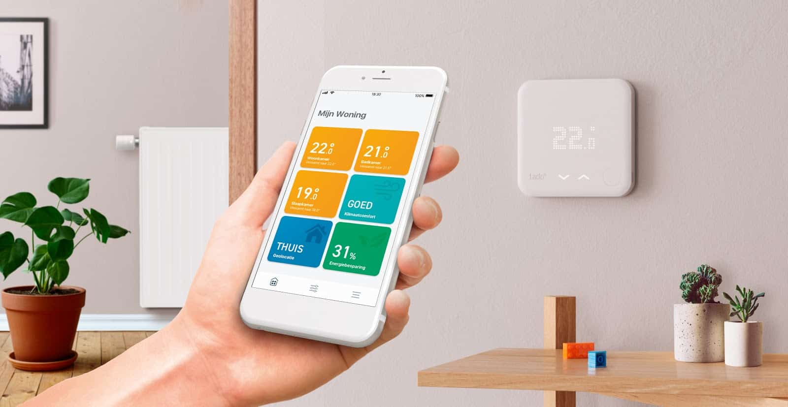 Eneco Stadsverwarming Thermostaat Tado Slimme Thermostaat V3 Review Nu 40 00 Korting