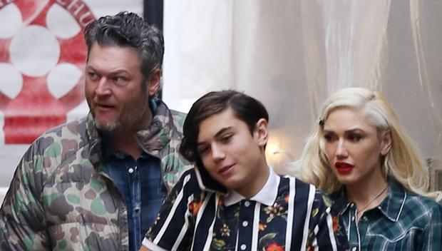 Gwen Stefani  Blake Shelton Get In The Holiday Spirit With Her Kids