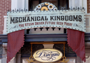 Disneyana Gallery goes Steampunk: Disneyland CA