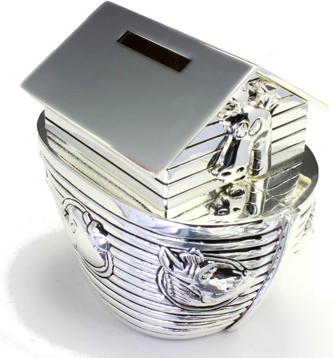 Buy Money Box Buy Your Personalised Engraved Silver Noah 39s Ark Money Box