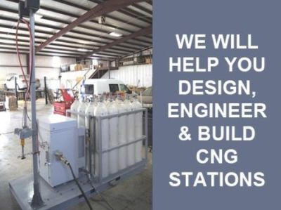 CNG Consultation we will help you design, engineer and build your CNG station | Go Freedom Fuel