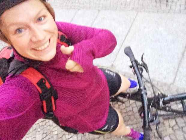 Auf dem Weg zum Kallinchen Triathlon 2015