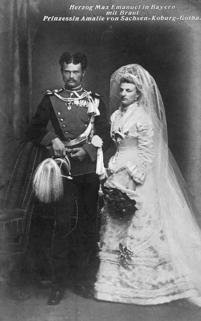 "Thurn Und Taxis Hochzeit 1875 Amalie And Max Emanuel ""mapperl"" 