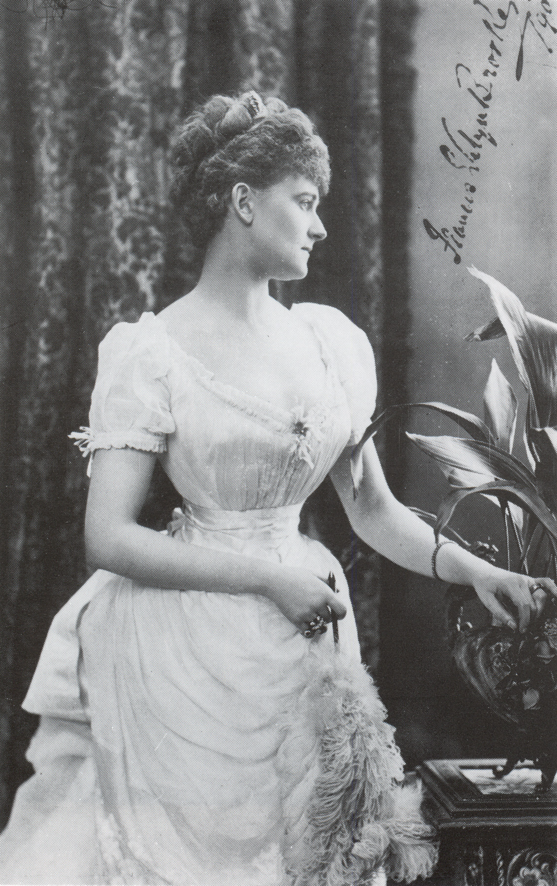 Coiffure 1890 Ca 1890 Daisy Countess Of Warwick Grand Ladies Gogm