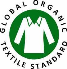 GOTS, Global Organic Textile Standard è riconosciuto come standard di elaborazione leader al mondo per tessuti a base di fibre organiche. Esso definisce i criteri ambientali di alto livello lungo l'intera catena di fornitura tessile biologico, limitando l'impiego di sostanze chimiche e che richiedono il rispetto di criteri sociali.