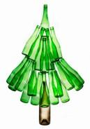 albero-bottiglie-riciclate