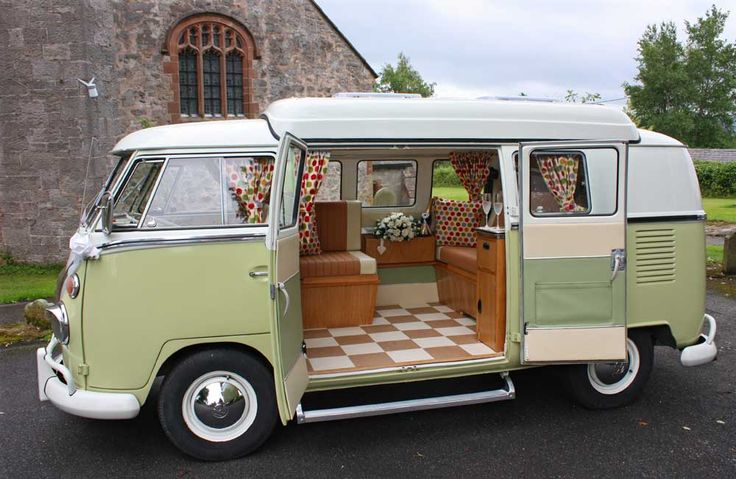 VW Bus Campers To Take A Road Trip In | Go Hippie Chic
