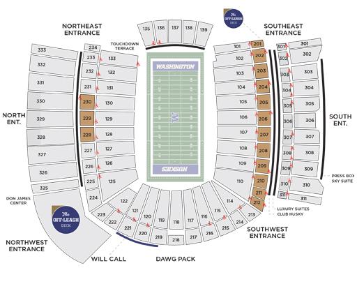 Premium Seating - Don James Center - University of Washington Athletics