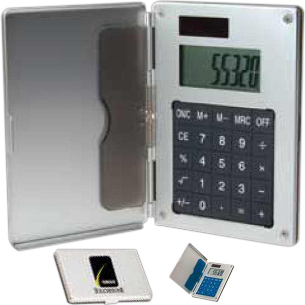 Business Card Holder/Calculator - GOimprints