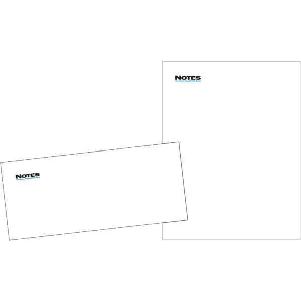 24# Premium Laid White Letterhead Envelopes - GOimprints