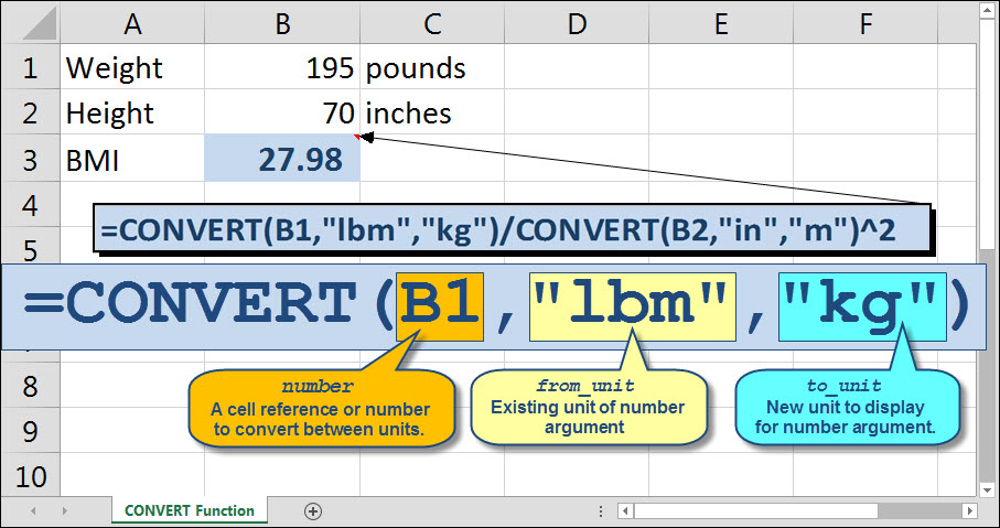 Use Excel to Keep an Eye on Your BMI This Busy Season - Going Concern - bmi calculation formula