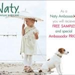 Gratis dal web: pannolini biodegradabili Naty Babycare per neonato
