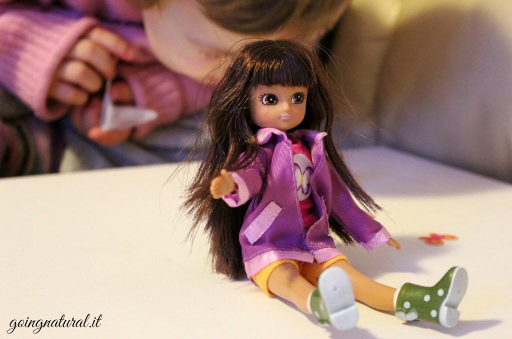 Lottie , la bambola a dimensione di bambina