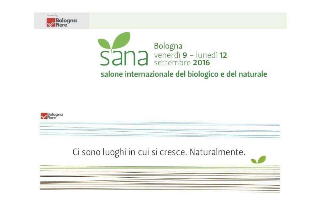 SANA 2016: gli appuntamenti dal Salone Internazionale del biologico