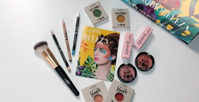 Che Beleza  la nuova collezione primavera/estate 2017 puroBIO cosmetics !