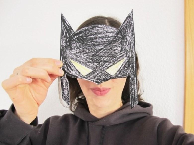 Batman, Maske, Basteln, Printable; Ausdrucken, Selbermachen