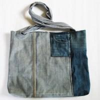 DIY, Upcycling, Ideen, Jeans, Recycling, Selbermachen, Basteln, Nähen, Einkaufstasche