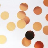 Kupferkonfetti, Selbermachen, Wanddeko, Diy, Upcycling, Idee, Basteln, Recycling, Kupferfolie, Punkte