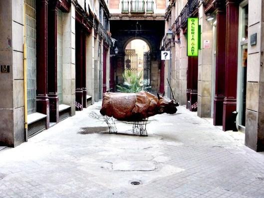 BCN Barcelona Geburtshaus Joan Miró Passatge del Crédit