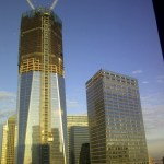 One World Trade Center and Neighbors Upward View