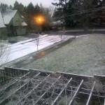 Snow in Portland 1