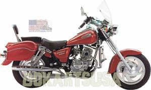 Jinlun Softail Twin 250 Motorcycle Lifan V-Twin 250
