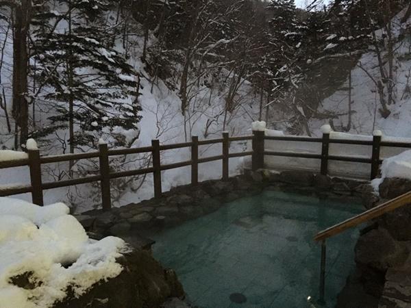 秘境温泉へ☆トムラウシ,北海道