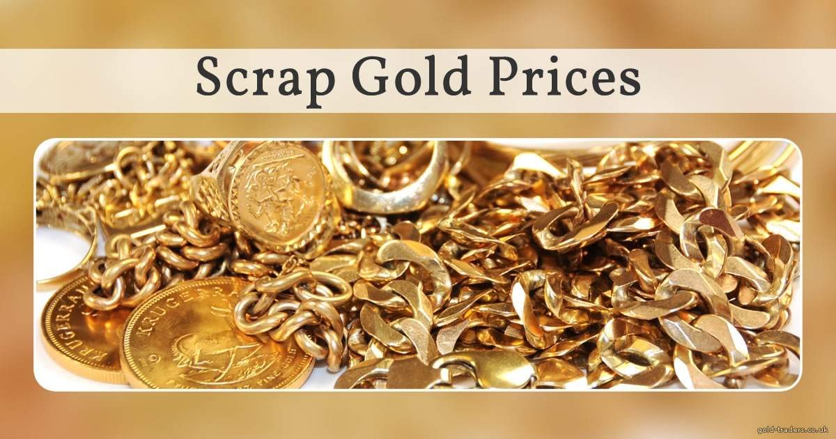 Scrap Gold Prices Uk Gold Price - Gold Trend