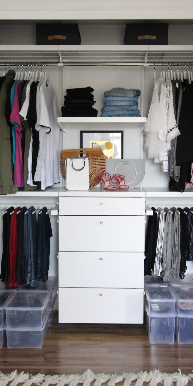 Closet Organization Mastering Closet Organization With The Container Store Goldalamode