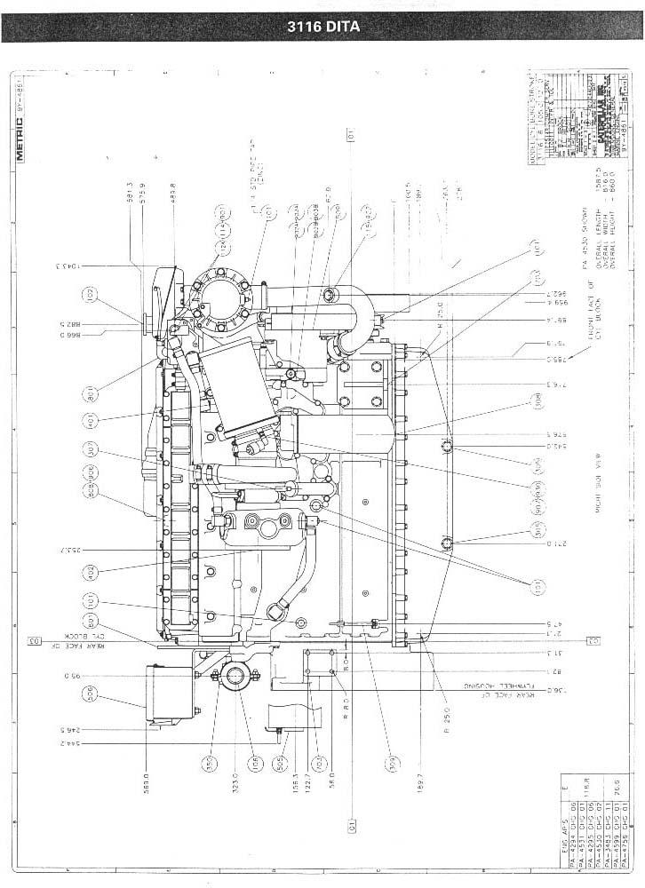 marine diesel engine wiring harness