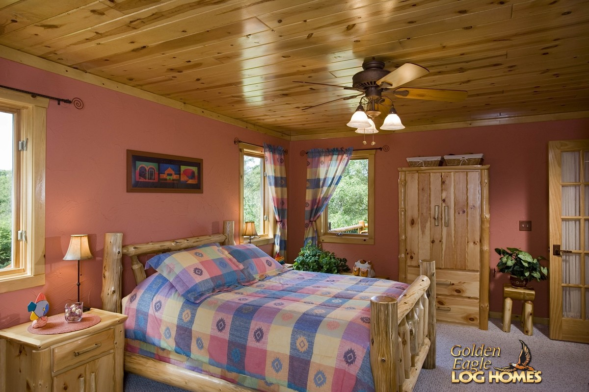 Houzz Store Golden Eagle Log And Timber Homes: Log Home / Cabin